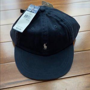 Navy Polo By Ralph Lauren baseball cap.
